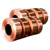 Buy cheap Electronic Copper Strips , Long Length Copper Tape For Power Cable from wholesalers