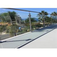 Buy cheap High Quality stainless steel balustrade systems with round system from wholesalers