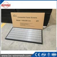 Buy cheap SWACO MONGOOSE shale shaker screen/composite frame screen with API Q1 certificate for soild control from wholesalers