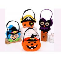 Buy cheap Tearproof Halloween Treat Bags , Diy Halloween Candy Bags Safe Material from wholesalers