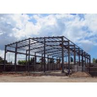Buy cheap Steel Structure Warehouse With Overhead Crane Lost Cost Lightweight from wholesalers