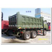 Buy cheap Sinotruk Howo Popular type dump truck different color and body cargo for optional from wholesalers