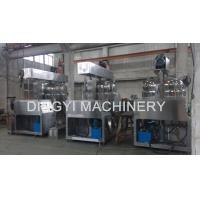 High Viscosity Cream Emulsion Mixer Machine15Kw Emulsifying Motor Safety Valve
