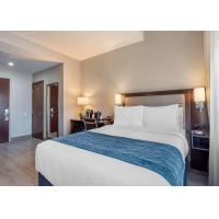 Buy cheap Complete Holiday Inn Hotel Wardrobe Bedroom Furniture 3 Star Wear Resistant from wholesalers