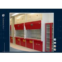 Buy cheap 1500*800*2350mm Ducted Fume Hood , Portable Fume Cupboard Color Rolled Steel Materials from wholesalers