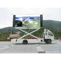 Buy cheap High Definition IP67 / IP65 1 / 4 Scan 1R1G1B PH10mm Truck Mounted LED Display Signs RoHS from wholesalers