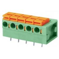 Buy cheap 02-24 poles Screwless Terminal top push botton| Pitch: 2.54mm | Part No.601-1-2.54/5.08 from wholesalers