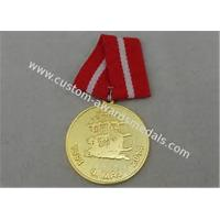 Buy cheap Diecasting Polygon Antique Custom Awards Medal Brass Zinc Alloy Soft Enamel from wholesalers