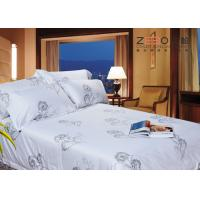 Buy cheap Customized Hotel Bed Linen Queen Size And Printing Luxury With 100% Cotton from wholesalers