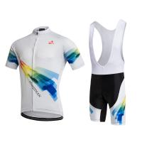 Buy cheap Colorfull Personalised Cycling Jersey Set Shorts And Bibs XS-6XL Customized Size from wholesalers