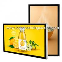 Buy cheap Indoor Wall Mounted Lcd Advertising Screen Android Video Player Usb Card Download from wholesalers