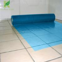 Buy cheap 0.03-0.2mm Blue Manufacture Floor Protective Film for wholesale from wholesalers