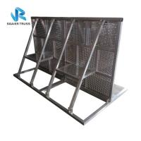 Buy cheap Angled Crowd Barrier Fencing , Pedestrian Barricades For Stopping Crazy Fans from wholesalers