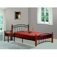 Buy cheap metal wooden bed db 0125 from wholesalers