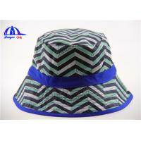 Buy cheap Allover Printing Logo Washing Bucket Hat and Caps for Women , Breathable and Beautiful from wholesalers