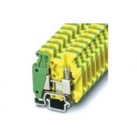 Buy cheap UL-MBK3-PE 275 / 400V Din Rail Terminal Block Connectors, V0 Flame Retardant Grade from wholesalers