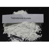 Buy cheap Test Acetate / Testosterone Anabolic Steroid CAS 1045-69-8 Muscle Mass Steroids from wholesalers