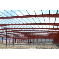 Buy cheap Fabrication Safety Industrial Steel Structures , Single Span Fabricated Steel Buildings product