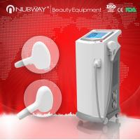 Buy cheap Optional output power diode laser hair removal machine with sapphire contact cooling treat from wholesalers