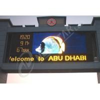 China High Resolution P20 Outdoor LED Signs 2500dots/㎡ advertising LED display on sale