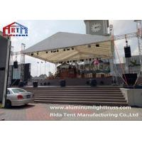 Buy cheap Durable Structure Aluminum Stage Truss For Party / Lightweight Lighting Truss product