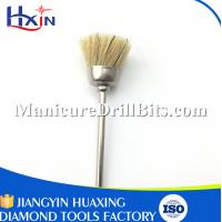 Buy cheap Cleaning & Filling Teeth Equipment Nail Dust Brush With Felt Material 2.35mm Shank from wholesalers