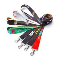 Buy cheap Polyester Printed Neck Lanyard Strap With Custom Accessories Eco Friendly from wholesalers