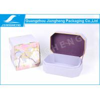 Buy cheap Delicate Handmade Cardboard Gift Boxes , Fabric Paper Special Printed Cardboard Boxes from wholesalers