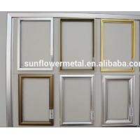Buy cheap Aluminium picture frame extrusions, anodized aluminum picture frames, brushed aluminium picture frames from wholesalers