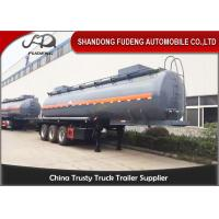 50000 Liters transport bitumen tank truck trailer with heating system