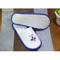 Buy cheap Indoor Guest Disposable Hotel Slippers Ladies White Waffle Slippers from wholesalers