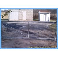 Buy cheap 9 Gauge Chain Link Fence Fabric , Carbon Steel Wire Lattice Fence Panels Multi Colors from wholesalers
