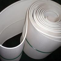 Buy cheap white silicone rubber belt from wholesalers