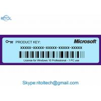 Buy cheap Product Key Code for Windows 10 , Windows 10 Pro Original Product Key 64 Bit from wholesalers