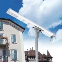 Buy cheap Safety All In One Solar Panel Street Lights 2700-6500 K Rosh Approved from wholesalers