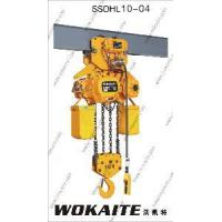 Buy cheap 10 Ton Construction Lifting Machine Electric Chain Hoist (SSDHL10-04) from wholesalers
