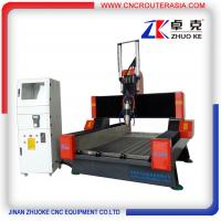 Buy cheap Z-500mm Heavy Duty 4 Axis Stone Carving Machine CNC Machine For Marble Granite ZK-9015 product