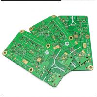 Buy cheap High Tg Double Sided Double Layer PCB Board Fabrication 2.4mm Thickness from wholesalers