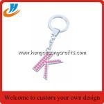 Buy cheap Custom alphabet keychain holder,letter tag keychain with custom,tag holder key chains welcome custom from wholesalers