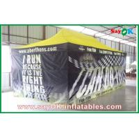 Buy cheap Huge Black Folding easy up tent steel frame for advertisement product