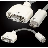 Buy cheap Mini DVI Male to VGA Female Adapter Convertor for Apple MacBook Display Monitor product