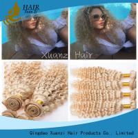Buy cheap Blonde Brazilian Virgin Hair Extensions Body Wave Long Lasting No Chemical from wholesalers