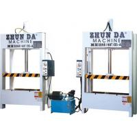 Buy cheap Big Frame Hydraulic Door Press Machine For Advertising Boards High Performance from wholesalers