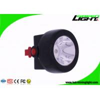 Buy cheap High Power Mining Cap Lights , Rechargeable Water - Proof Cordless Mining Cap Lamps from wholesalers