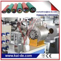 Buy cheap single screw extruder machine for HDPE duct making/HDPE duct making machine from wholesalers