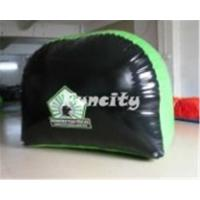 Buy cheap Durable 0.6mm PVC Tarpaulin Inflatable Paintball Bunker with Bow Arrow Shooting Games from wholesalers