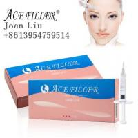 Buy cheap ACE cross linked 1ml deep line hyaluronic acid filler injection for lip enhancement from wholesalers