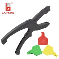 China Nylon Cattle Cow Self Piercing Ear Tag Plier on sale