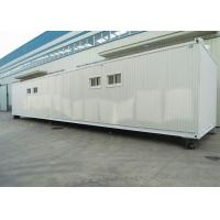 Buy cheap low cost container homes metalic frame container refugee shelter from wholesalers