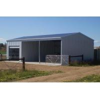 Buy cheap Light Steel Structure and Portal Frame Agricultural Farm Warehouse with Q235B Steel from wholesalers